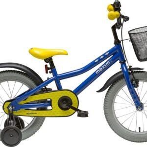 Rower dziecięcy Maxim Bat Boy 16″ niebieski
