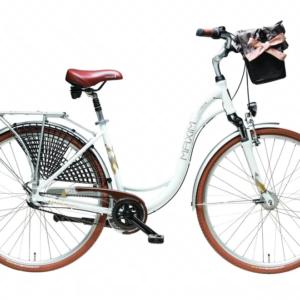 """Rower miejski MAXIM 28"""" MC 1.6.3 biały 2021"""