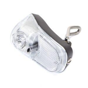 Lampa przednia 1-LED 2xAA z wyłącznikiem