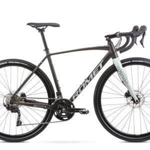 Rower Romet ASPRE 2 Gravel 2021 brązowo-szary