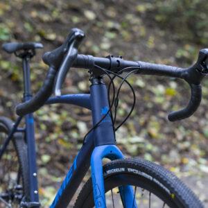 Rower Romet ASPRE 1 Gravel 2021 granatowo-niebieski