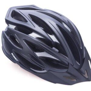 Kask rowerowy ROMET model 105 czarny mat