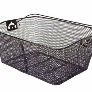 Koszyk na bagażnik CL-03 /40x30x18/siatkowy czarny