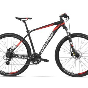 Rower Kross Level 1.0 czarny/czerwony/biały 2020