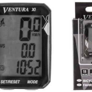 Licznik rowerowy przewodowy Ventura 11F